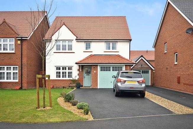 4 bedroom detached house for sale in honey spot crescent for Home architecture widnes