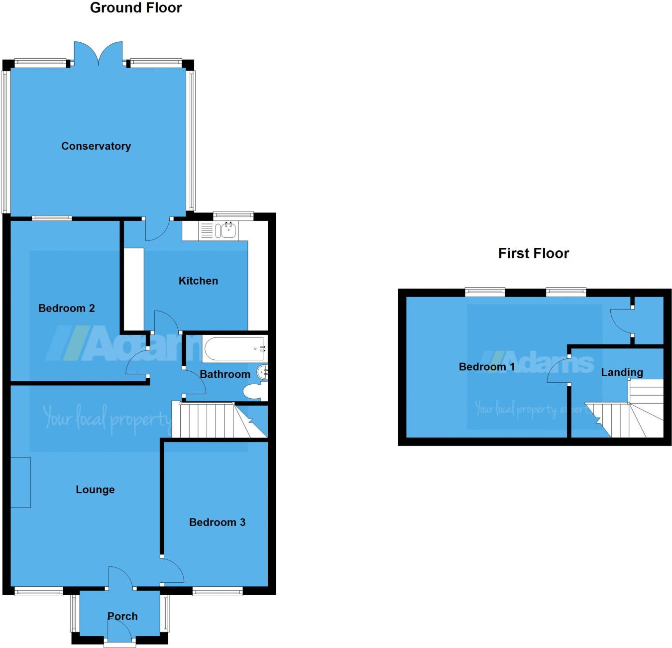 3 bedroom bungalow for sale in Clovelly Grove, Runcorn, WA7