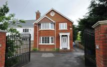 Detached property in Coppermill Road...