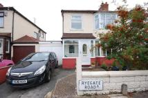 3 bedroom semi detached property for sale in Ryegate Road...