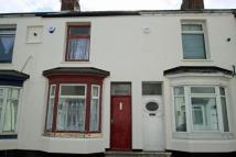 Terraced home in Faraday Street...
