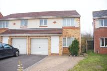 3 bedroom semi detached property in Grainger Close...