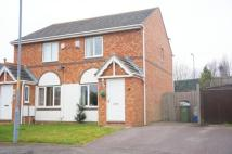 2 bed semi detached property in Talisman Close...