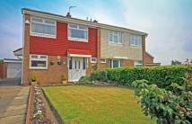 3 bedroom semi detached home in Wolsingham Drive...