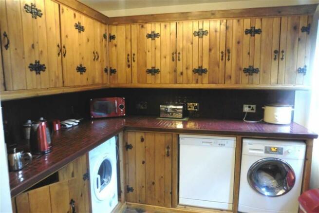 Utility Kitchen Area