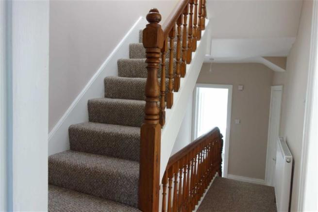 Stairs lead to Split
