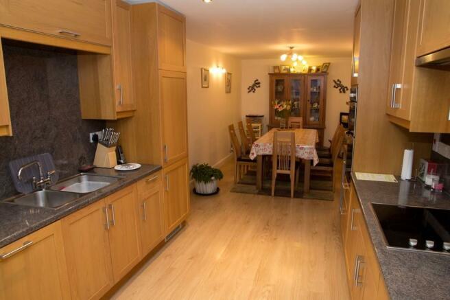 Kitchen through t...