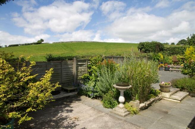 Rear garden and c...