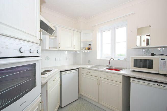 Kitchen with Window