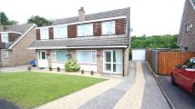 3 bedroom semi detached property in Wickham Way...