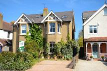 semi detached property in Hersham Road...