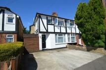semi detached property for sale in Burwood Close, Hersham...