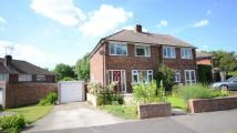 semi detached home for sale in Hinton Close, Crowthorne...