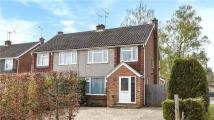 semi detached home in Butler Road, Crowthorne...