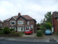3 bed semi detached property to rent in DEAN LANE, HAZEL GROVE...