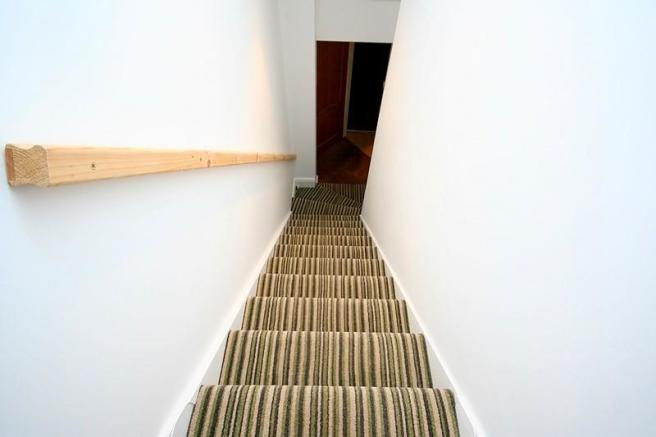 Stairs to front door