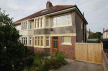 4 bed semi detached house in Links Road...