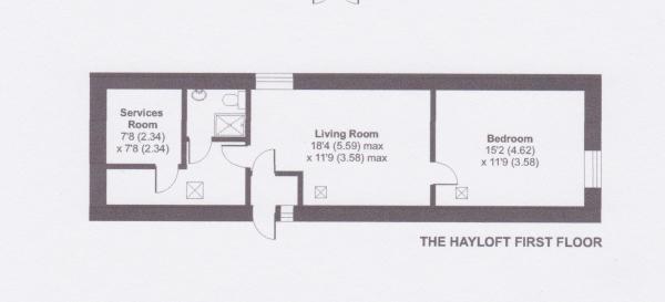The Hayloft First...