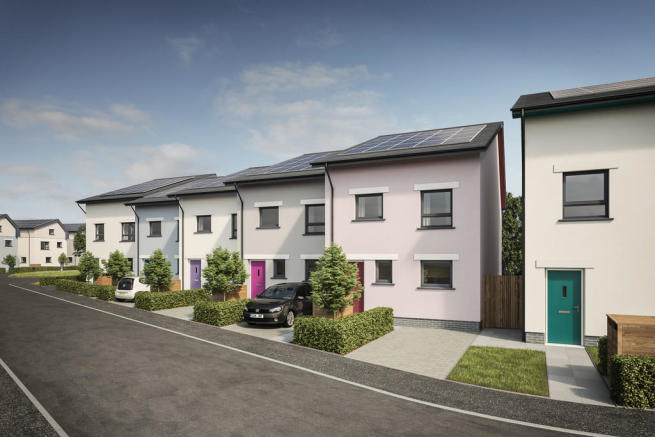 3 bedroom town house for sale in roborough park eco for Eco houses for sale