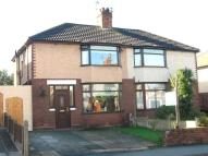 3 bedroom semi detached property to rent in Latham Avenue, Runcorn...