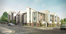 new development in Chiltern Road, Dunstable
