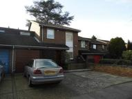 Terraced house in Lyndhurst Close...