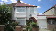 3 bed semi detached home for sale in Cromwell Road, Hayes, UB3