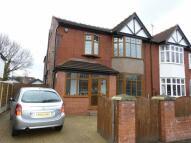semi detached house in Morville Road, Chorlton
