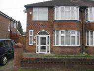 White Moss Avenue semi detached property to rent