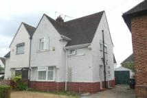 3 bed semi detached property in St Georges Crescent...