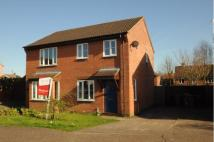 2 bedroom semi detached property in Sawmill Close, Wymondham...