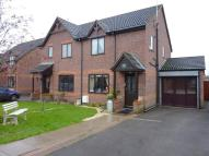 3 bed semi detached house for sale in Millbank Drive, Rocester