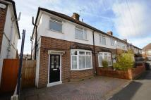 3 bedroom semi detached home in Park Avenue.