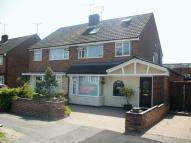 4 bed semi detached house in St Michaels Avenue.