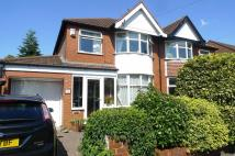 semi detached property for sale in Mossdale Road, Sale...