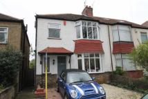 semi detached home to rent in Aldrington Avenue, Hove...