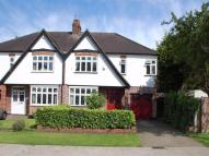 semi detached home for sale in Spring Court Road...