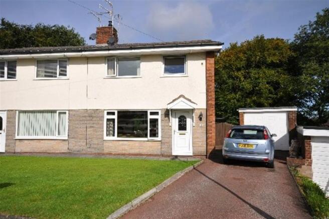 4 Bedroom Semi Detached House For Sale In Coleridge Drive Baxenden Lancashire Bb5
