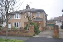3 bed semi detached home in Woodfield Avenue...