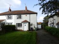 THORNER LANE semi detached house to rent