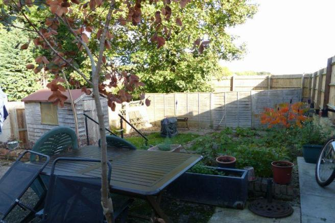 Rear Garden (to be landscaped)
