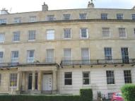 Flat in Lansdown Crescent...