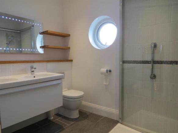 Cloakroom/Shower Room: