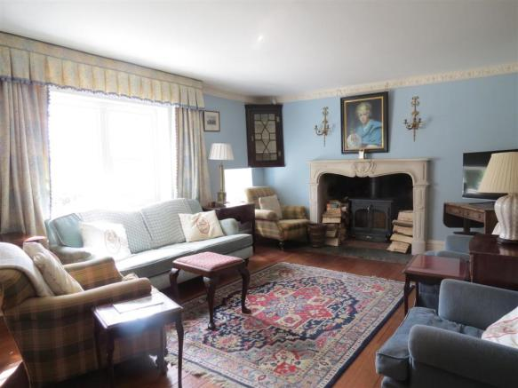 Family Room/Open Living Area: