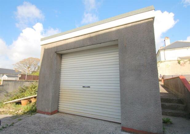 Rear Garden & Garage