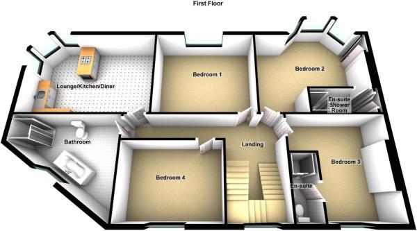 First Floor Flat, 16