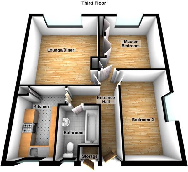 38 Stonehall Flats, Stonehouse, Plymouth 3D.JPG