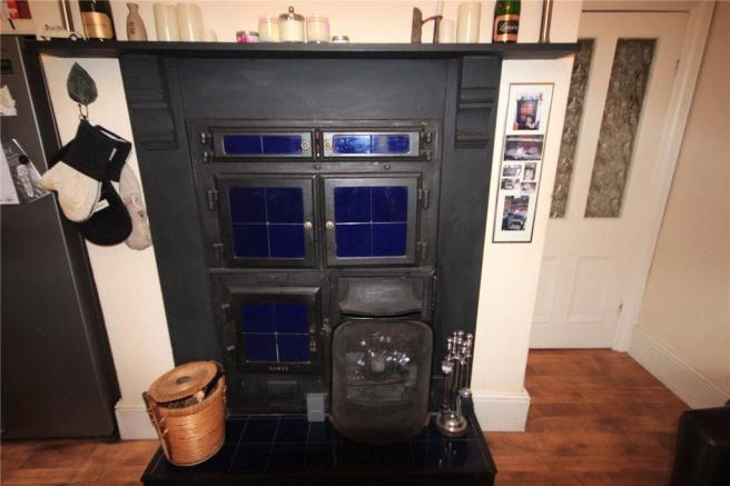 Ktichen Fireplace