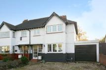 3 bed semi detached home in Watford Road...
