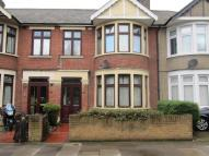 Terraced house in South Park Road, Ilford...